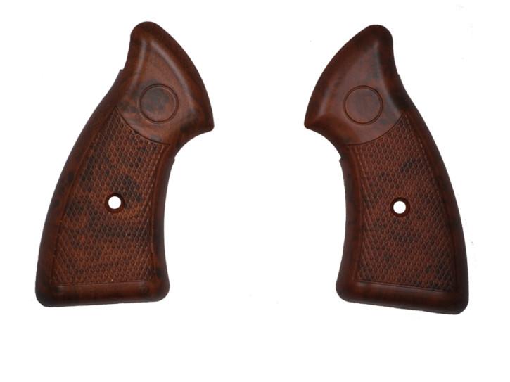 Griffschalen Holzoptik für Zoraki R1 Revolver