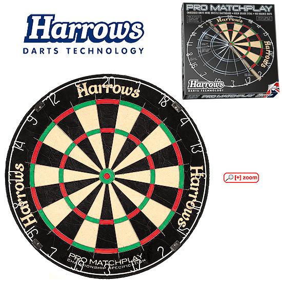 HARROWS Pro Matchplay Board Dartscheibe