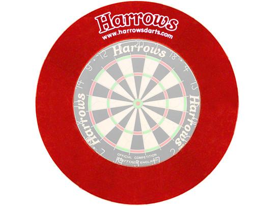 HARROWS Board Surround Dart-Board Umrandung rot