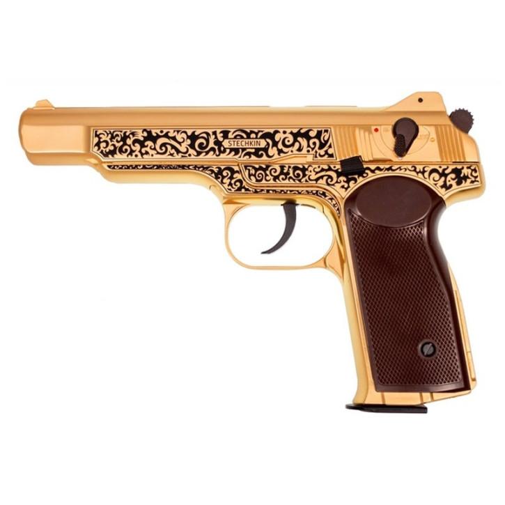 Gletcher Stechkin Gold GBB