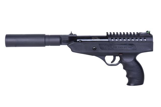 BO  Langley Silencer Knicklaufluftpistole 4,5 mm