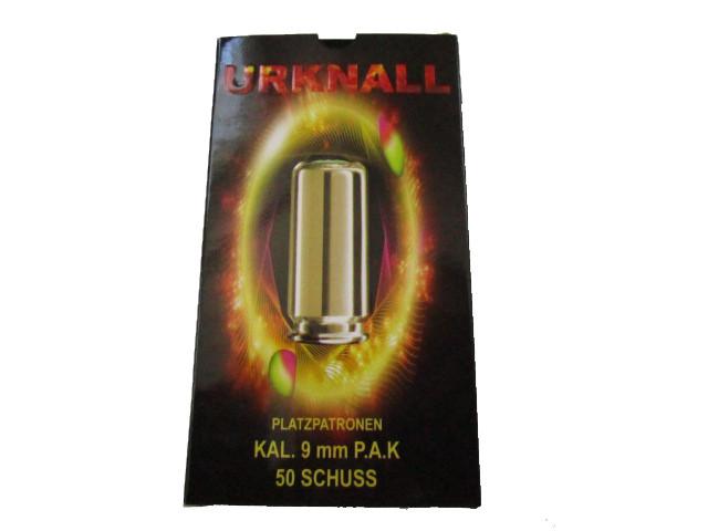 9 mm PAK Özkursan Urknall 50 Stück