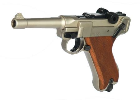 ME Mod. P 08 vernickelt Signalpistole