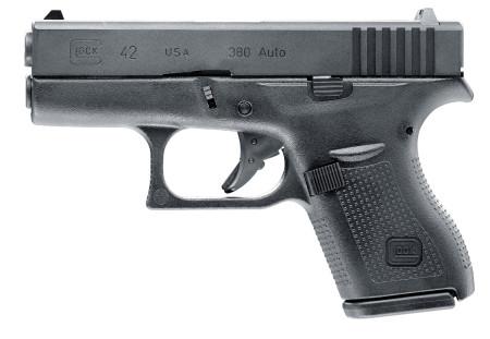 Glock 42 mit Metallschlitten,Blowback und einstellbares Shoot-up
