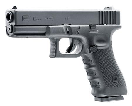 Glock 17GEN4 mit Metallschlitten,Blowback und einstellbares Shoot-up