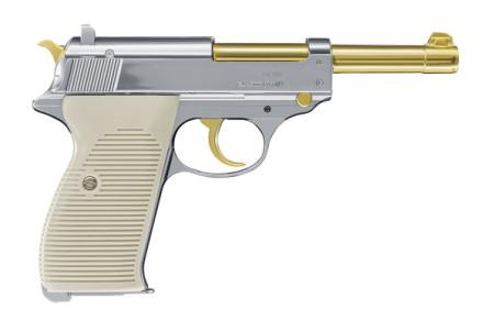 Walther P 38 Gold Edition Luftdruckpistole
