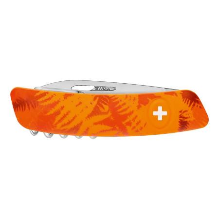 SWIZA Taschenmesser Zeckenmesser Fillix Orange