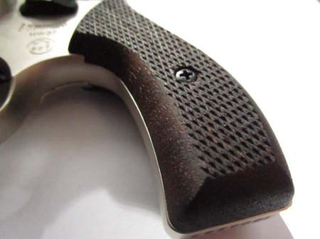 Signalrevolver Weihrauch HW 37 nickel mit Holzgriff