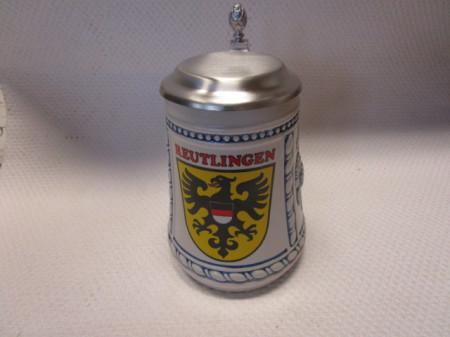 Krug mit Reutlinger Wappen 0,5l