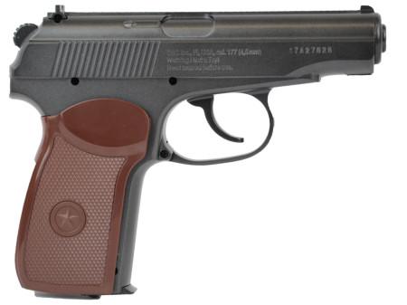 Borner PM49 CO2 Luftpistole, 4,5mm BB, Metallausführung