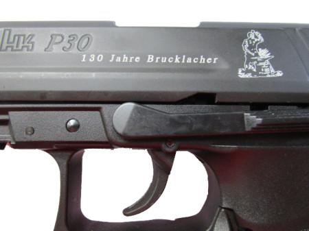 Heckler & Koch  P 30 Gas-Schreckschusswaffe 130 Jahre Brucklacher