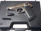 Walther PP polished Chrome, Gas- Signal- freie Waffen