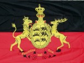Württemberg mit Wappen