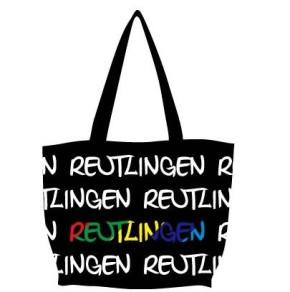 Reutlinger Tasche schwarz-weiss /multi