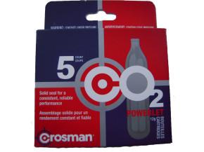 12 g CO2- Spezialkapseln, Crosman 5.- ¤ (0,041 ¤/g)