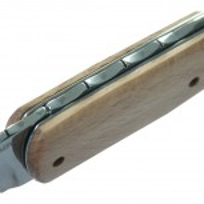 Haller Taschenmesser mit Buchenholz