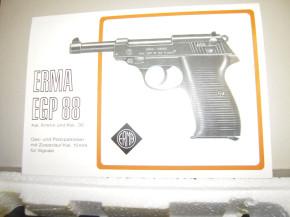 Erma EGP 45, brüniert, 8mm Knall
