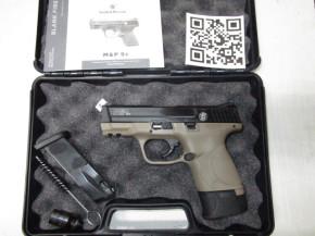 Smith & Wesson M&P 9C, FDE, 9mm P.A.Knall