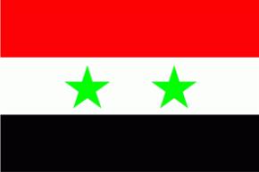 Syrien Flagge 90x150 cm
